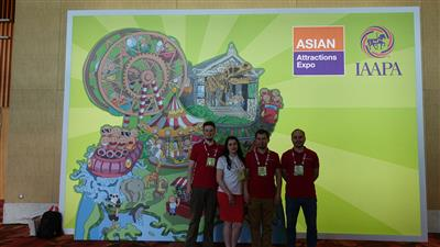 IAAPA — Asian Attractions Expo 2017. Singapore