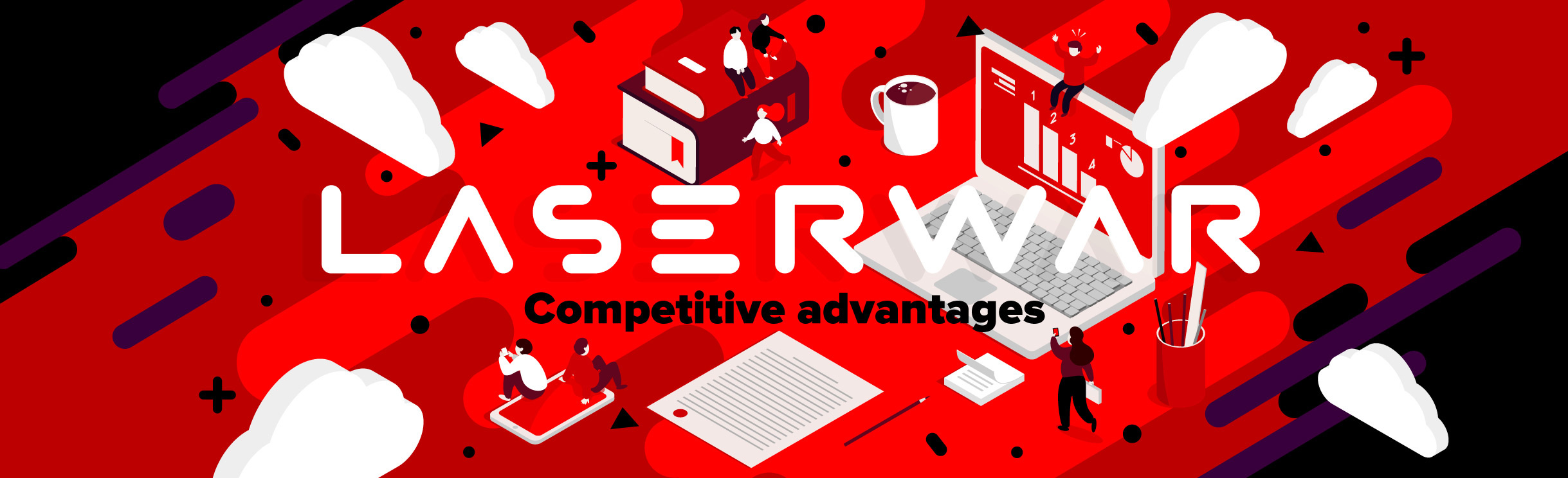 Laserwar competitive advantages
