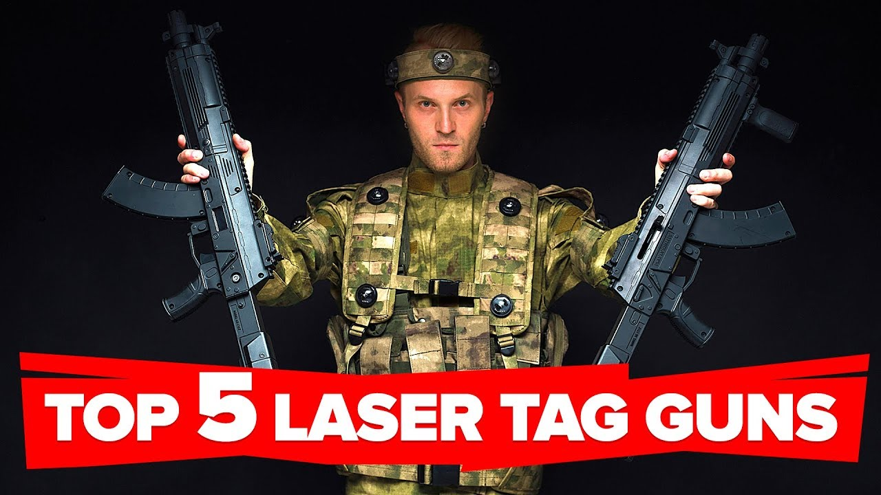 TOP-5 weapons for laser tag