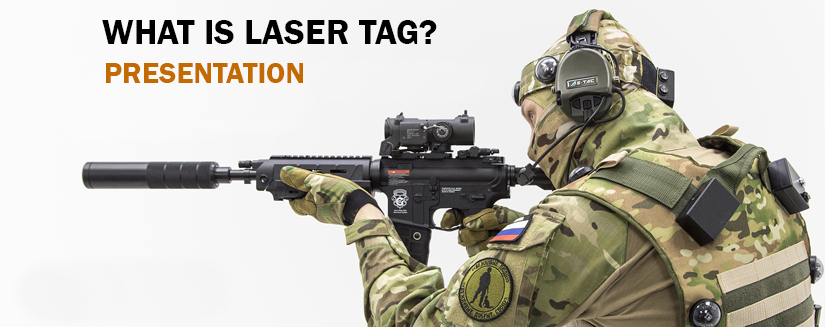 Laser tag: greater speed, range and precision