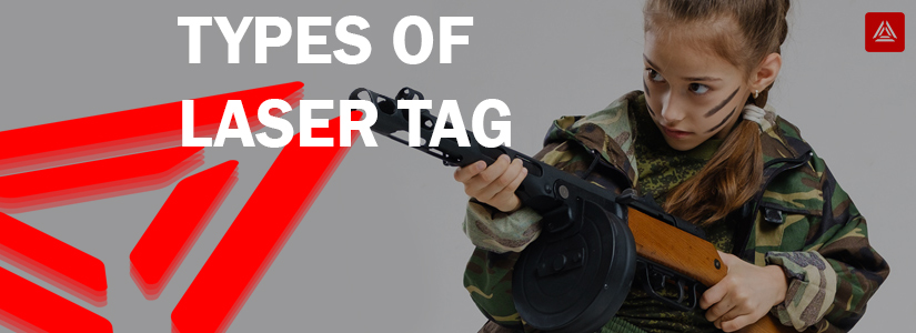 Types of laser tag