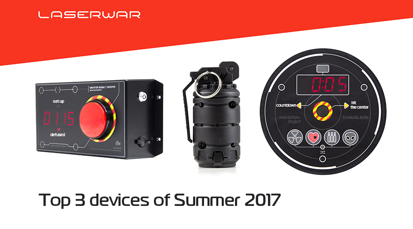 TOP 3 DEVICES OF SUMMER 2017