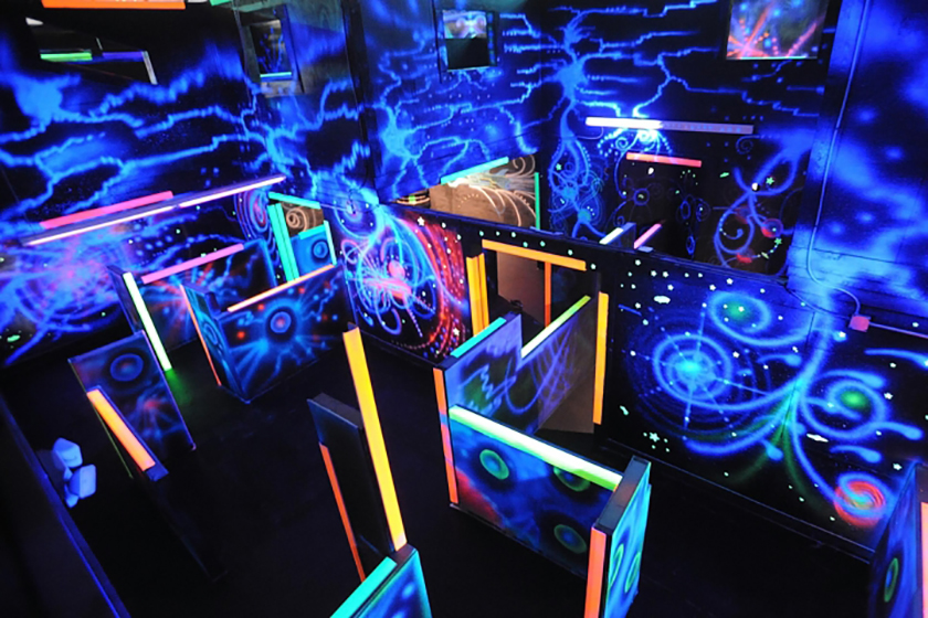 Indoor laser tag – soon in your city!