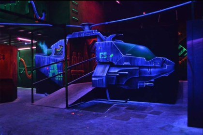 Laser Tag arena concept development photo 2