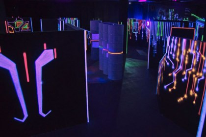 Laser Tag arena design project + author's supervision - 7