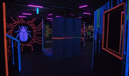 Laser Tag arena design project + author's supervision - 6