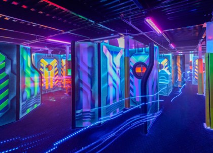 Laser Tag arena design project + author's supervision - 8