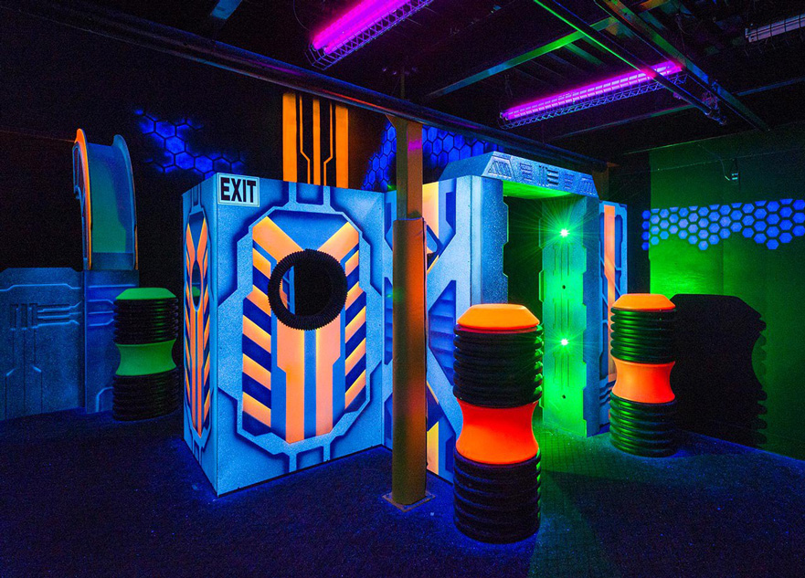 Laser Tag arena design project - photo 6