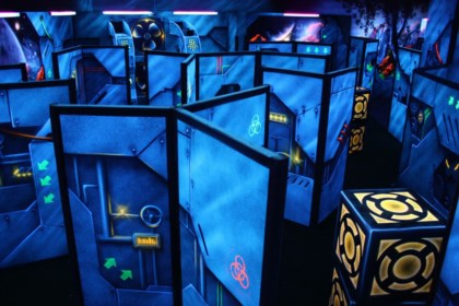 Laser Tag arena design project photo 4