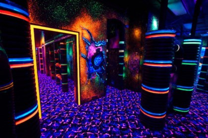 Laser Tag arena design project photo 8