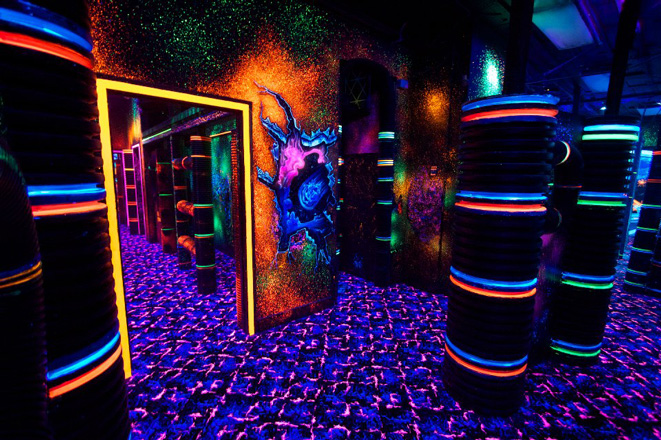 Laser Tag arena design project - photo 7
