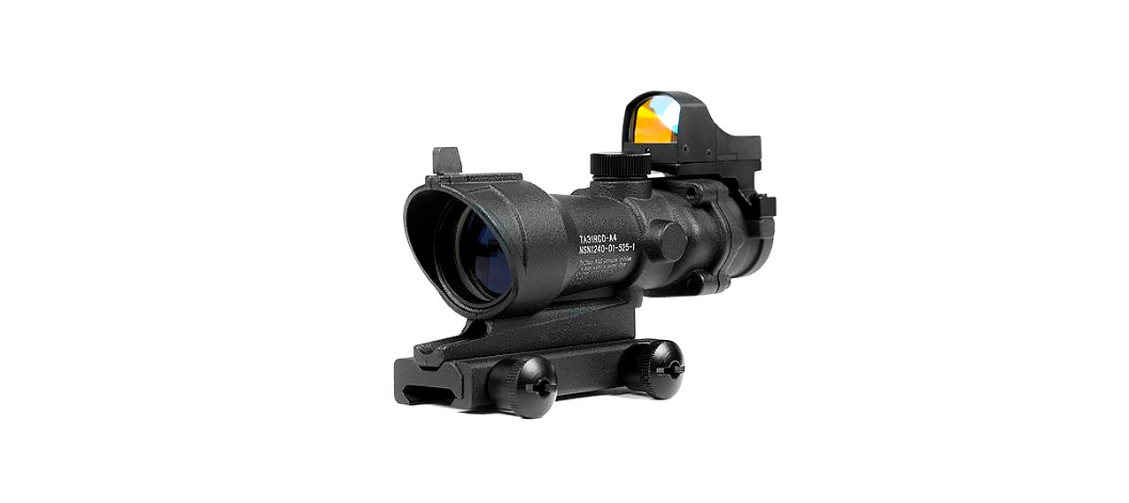 Ta31 4 X 32 Telescopic Sight With Mini-Collimator photo 1