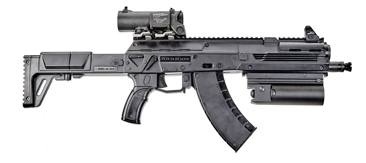 Underbarrel Grenade Launcher For Ak - photo 1