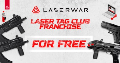 LASERWAR gives away franchise for lasertag clubs