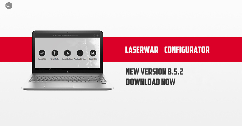 LASERWAR configurator update. Version 8.5.2