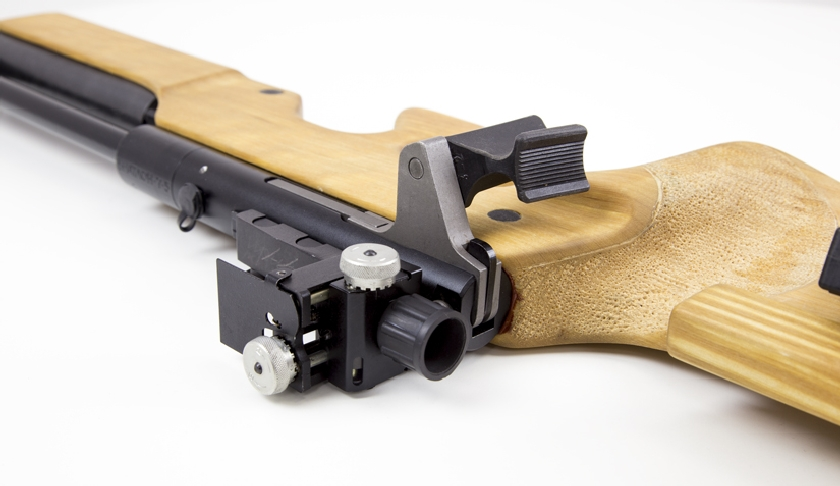 laser biathlon rifle