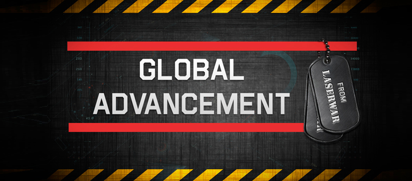 GLOBAL ADVANCEMENT FROM LASERWAR