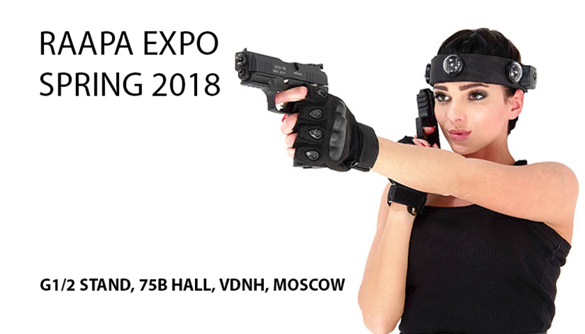 LASERWAR at RAAPA EXPO 2018