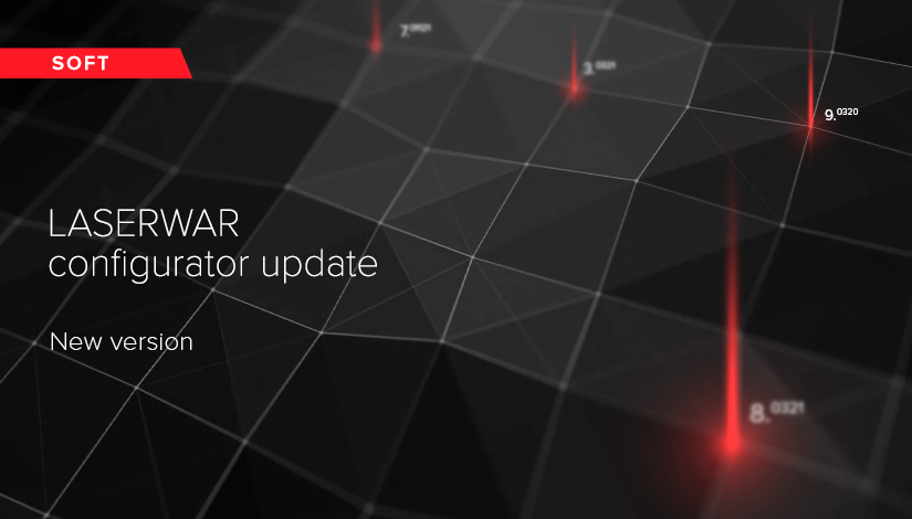 LASERWAR configurator update. Version 8.5.6