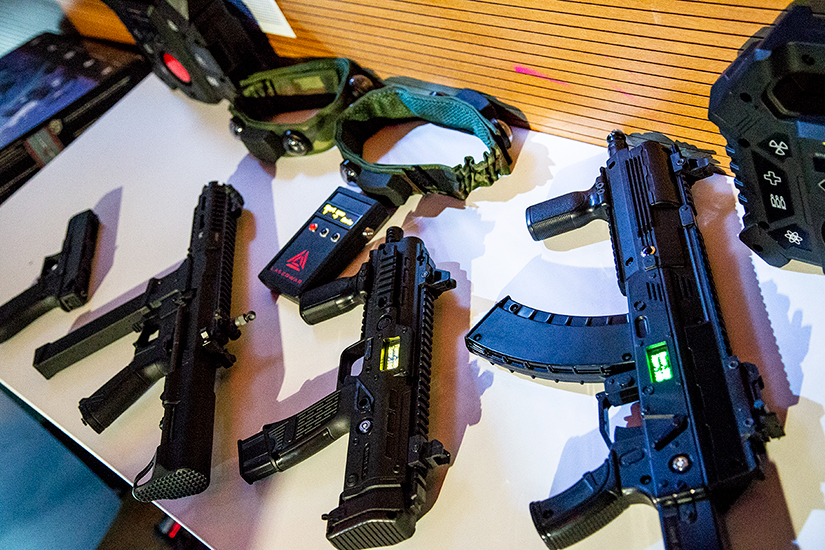 laser tag equipment and device