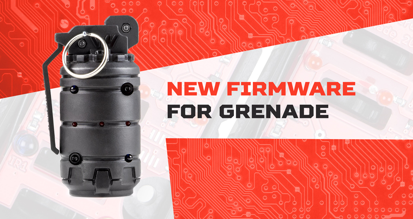 NEW FIRMWARE FOR THE EXPLOSIVE DEVICE