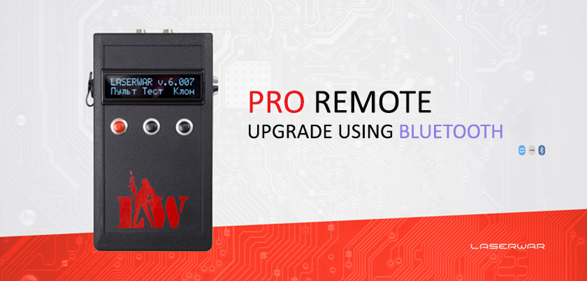 PRO REMOTE + BLUETOOTH MODULE = UPGRADES MADE EASY