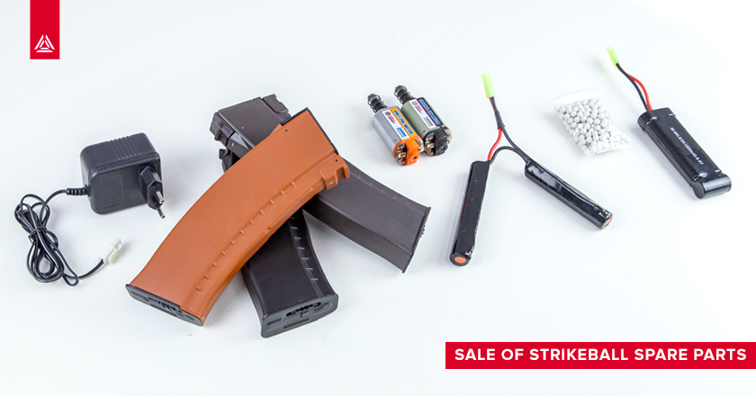 Sale of strikeball spare parts