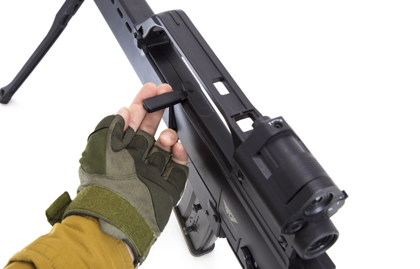 laser tag rifle