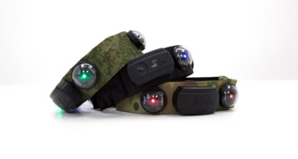 SMART RGB-HEADBAND FROM LASERWAR COMPANY