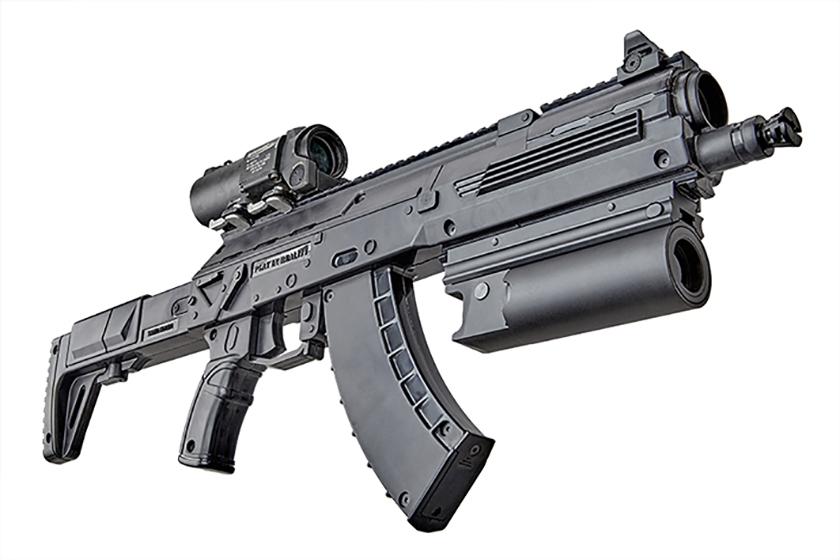 UNDERBARREL GRENADE LAUNCHER FOR AK-12LT PREDATOR PRO ...